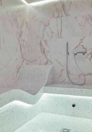 Hammam laconium marbre
