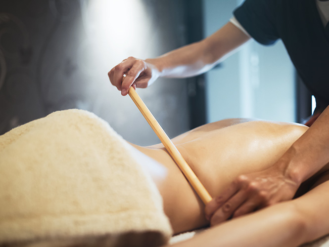 massage du dos traditionnel