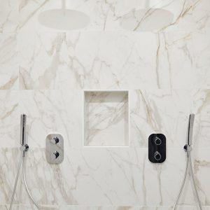 Cabine de douche pour deux personnes