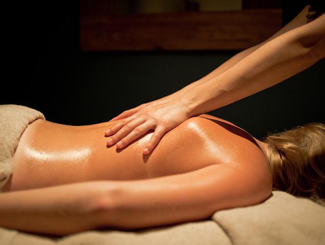 massage du dos sur mesure