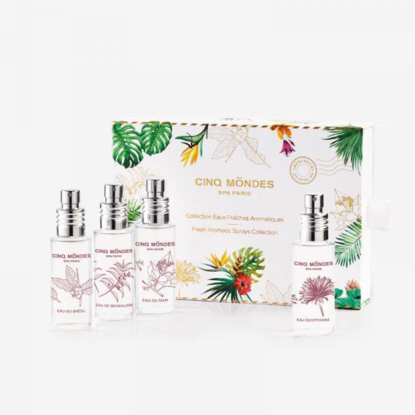 Collection Eaux Fraîches aromatiques Cinq Mondes