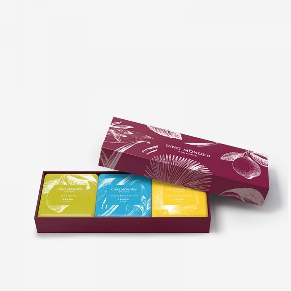 Collection des savons aromatiques Cinq Mondes