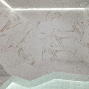 laconium chauffant dans le hammam