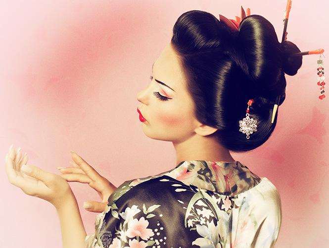 geisha visage pure